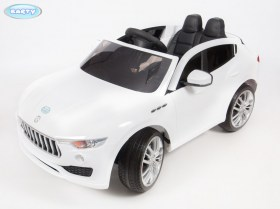 Электромобиль BARTY T005MP     (Maserati Levante) (4WD) белый (4)